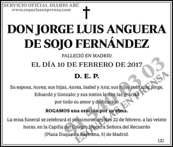 Jorge Luis Anguera de Sojo Fernández